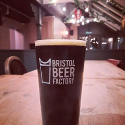 The Very, Very First Drinks at The Swan - Bristol Beer